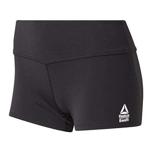 Reebok Damen Crossfit Chase Bootie Shorts, schwarz, Large