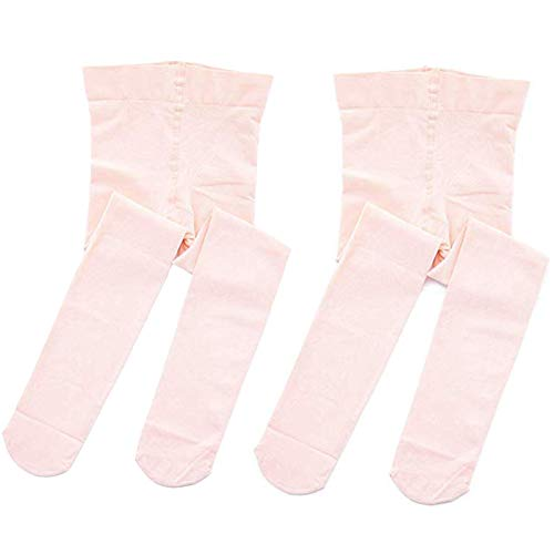 STELLE Girls' Ultra Soft Pro Dance Tight/Ballet Footed Tight (Toddler/Little Kid/Big Kid), 2-BP, M
