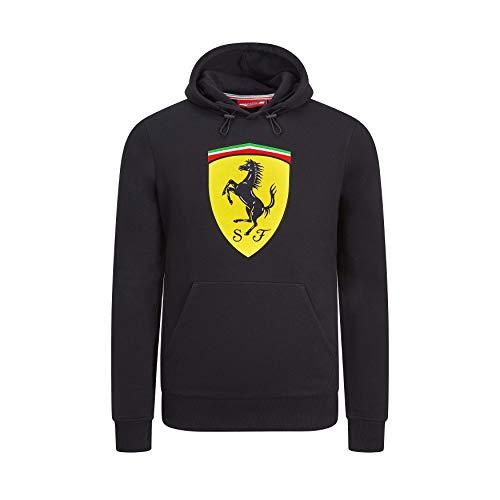 Sudadera con Logo de Ferrari F1 de la Marca Sports Merchandising B.V. Scuderia, Color Negro