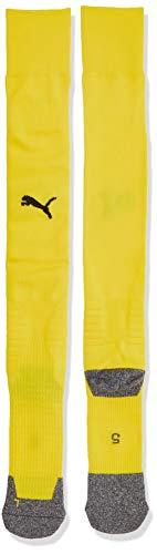 Puma Herren LIGA Socken LIGA, Cyber Yellow/Black, 39-42 (Herstellergröße: 3)