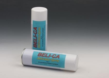 Unbekannt RENUS - DEUTSCHE Produktion ! ALLE Kleber in 3 Sekunden - Beli-CA Aktivator-Spray f. ALLE Sekundenkleber auch für Depron & Styropor geeignet