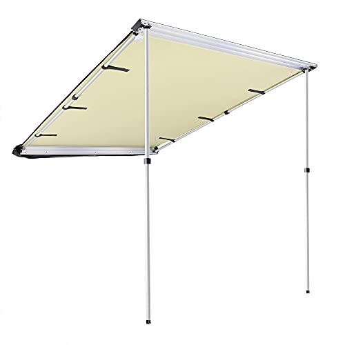 Car Tent Awning Rooftop SUV Truck Camping Travel Shelter Outdoor Sunshade Canopy (Size : 7.6' x 8.2')