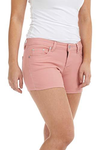Suko Jeans Women's Denim Cutoff Shorts 85219 Pink 10