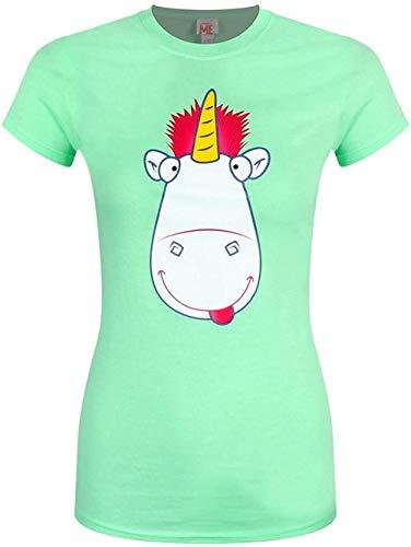 Ich - Einfach Unverbesserlich - Zunge & Cheek Einhorn - Offizieles Damen T-Shirt - Grün, M