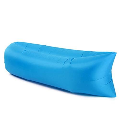 0911TY Opblaasbare slaapstoel met ingebouwd kussen, waterdicht, opblaasbare stoel voor kamperen, park strand-achtertuin