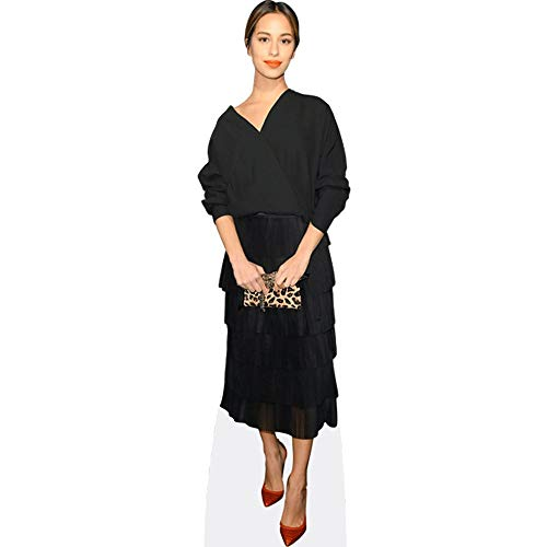 Celebrity Cutouts Gizem Emre (Black Dress) Pappaufsteller Mini