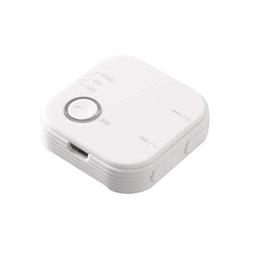 グリーンハウス Bluetoth ブルートゥース オーディオレシーバー クリップ付 AAC対応 Bluetooth Ver4.1 ホワ...