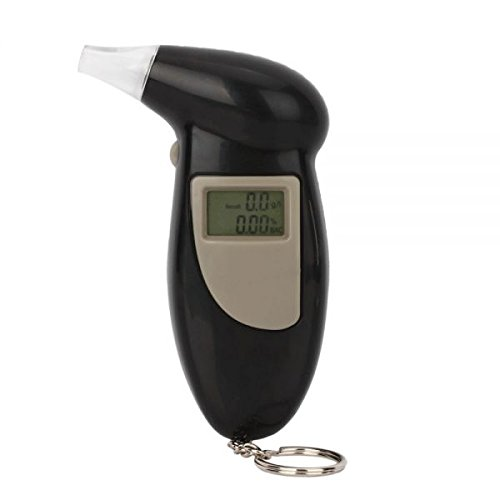 Preisvergleich Produktbild UNOTEC Alkoholtester digital 20.0046.08.00 schwarz