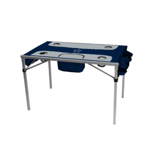 ad395c90c29 NFL Collapsible Total Tailgate Table with Cooler Pouch