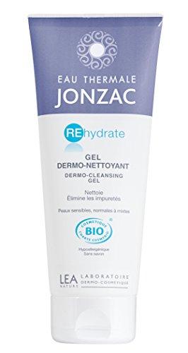 Eau thermale jonzac gel dermonettoyant visage 200 ml - cosmetique bio