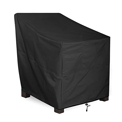 ALSTER Patio Chair Cover Deep Seated, Heavy Duty and Waterproof Outdoor Lawn Furniture Covers,40' D33 H35 W