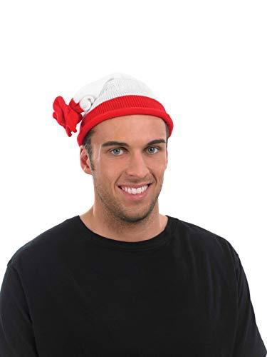Fun Shack Chapeau À Rayures Rouges Et Blanches pour Homme et Femme