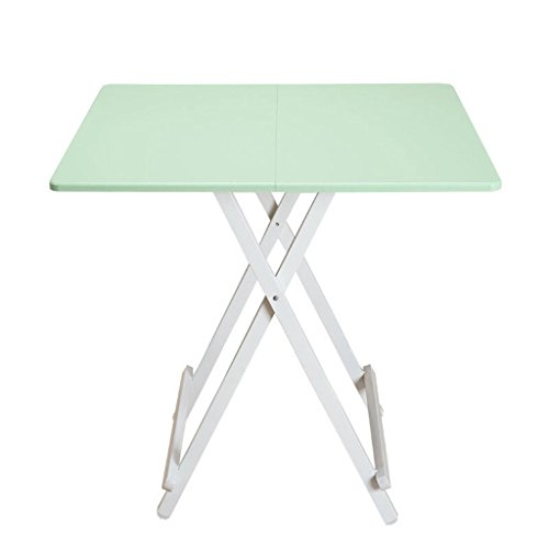 Mesa plegable port¨¢til para El hogar, mesa moderna mini - pl¨¢stica, mesa de computadora cuadrada multicolor elegante, mesa peque?a (60 x 60 x 55 cm) (a)