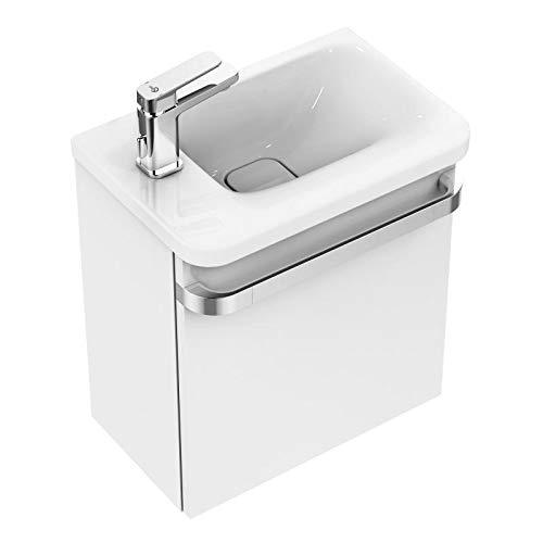 Ideal Standard Handwaschbecken Tonic II, Links Ablage Links, 460x310x140mm, Weiß, K086601