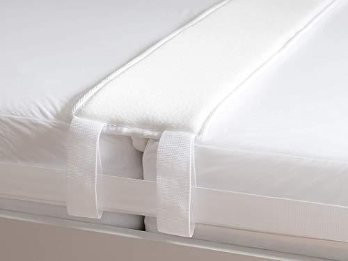 ZHIHUIMIFENG Liebesbrücke für Matratzen als Matratzenverbinder - der Ritzenfüller für Matratzen Wird als Matratzenkeil in die Lücke gelegt, 200 cm x 20 mit Spanngurt für festen Halt