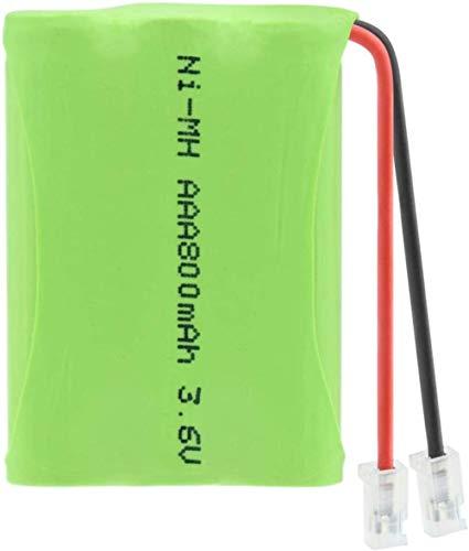 1/2/4 Piezas 3.6V 800Mah 3 * AAA Batería Recargable Ni-Mh Grupo Conector Universal 800Mah Recargable Ni-Mh AAA 3.6V Baterías 4Pcs-1Pcs