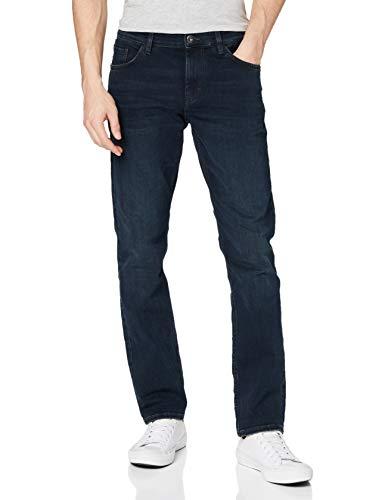 TOM TAILOR Herren Josh Jeans, Blau (Dark Stone Blue Black 10173), 31W 30L EU