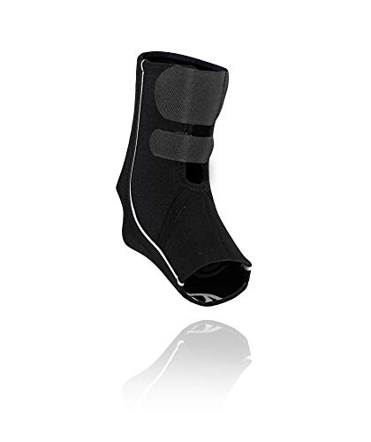 Rehband QD Ankle Support Sprunggelenkbandage, Schwarz, L