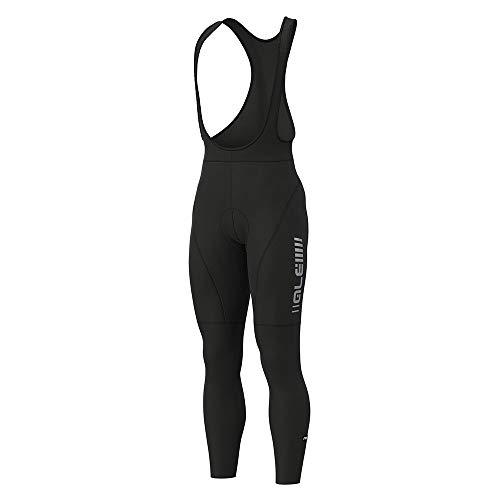 Alé Cycling Graphics PRR Road 2019 - Pantalón con Tirantes para Hombre, Color Negro, otoño/Invierno, Color Negro, tamaño Large