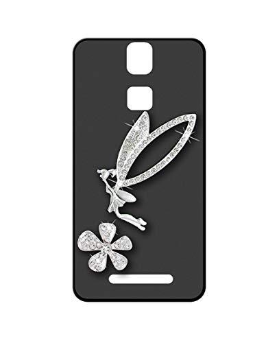 Sunrive Kompatibel mit Elephone P8000 Hülle Silikon,Glitzer Diamant Strass Handyhülle matt Schutzhülle Etui 3D Hülle Backcover (Elfen) MEHRWEG+Gratis Universal Eingabestift