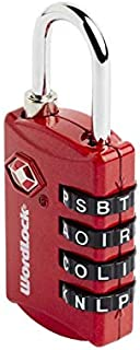 Korjo Luggage Lock, 3 Centimeters, Red