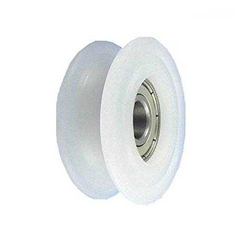 Zabi Seilrolle 71 mm fur Seil 20mm Kunststoffprofilrollen Nylon mit Lagerung (Kugellager)
