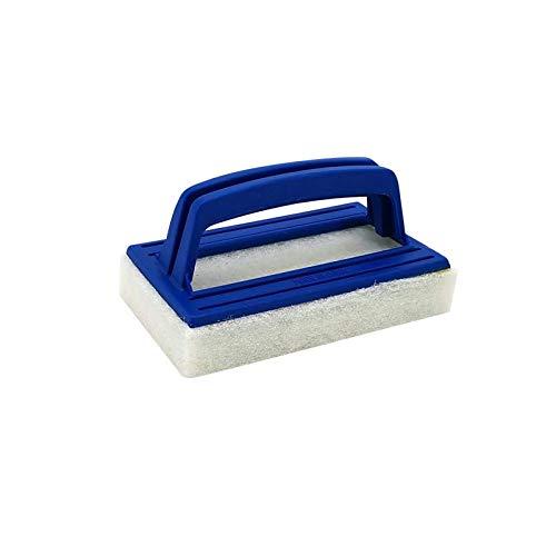 XUXI Cepillos de aluminio para limpieza de piscinas, estos cepillos resistentes limpian paredes, azulejos y suelos sin esfuerzo, diseo elegante y cerdas fuertes