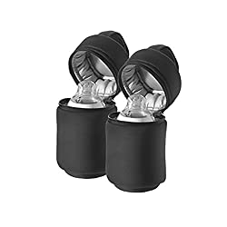Closer to Nature insulated bottle holders are naturally more comfortable, lightweight, practical and compact. Ideal for teats or refreshing breaks on the go. Double Package: Keep one bottle warm, the other bottle cool. Practical handle to hang the bo...