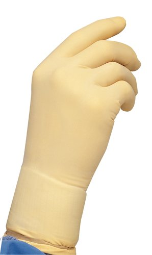 Cardinal Health 2Y1732 Latex CP100 BT Ambidextrous Non-Sterile Cleanroom Gloves, Size Large (Case of 1000)