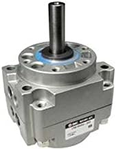 SMC CDRB1BW80-180S Aluminum Vane Style Rotary Actuator, Single Vane, Compact, Basic Style Mounting, Switch Ready, Rubber Cushion, 17 mm Rod OD, 1/4