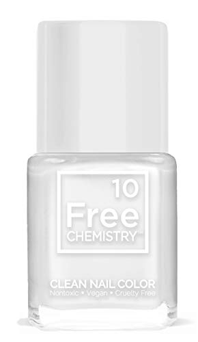 10+Free Chip Resistant Non-Toxic Clean Nail Polish (Moon Beam)