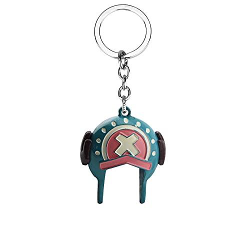 Anime Periférico De Una Pieza Sombrero De Paja Grupo Barco Doctor Chopper Sombrero Forma Personalidad Llavero Cosplay Regalos Para Amigos
