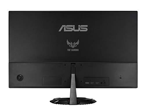 ASUS TUF Gaming VG249Q1R 60,45 cm (23,8 Zoll) Monitor (Full HD, bis zu 165Hz, FreeSync Premium, Shadow Boost, 1ms Reaktionszeit, Lautsprecher, HDMI, DisplayPort) schwarz