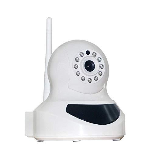 Wireless IP Kamera (1.3MP, HD 1280x720p ¡§1berwachungskamera mit integriertem Alarm -WIFI - Nachtsicht App/Anleitung/Support Tag/Nachtsicht, Gegensprechfunktion, WLAN, Pir-Sensor, Schwenkbar, SD Karte, 433MHz Funk)