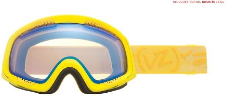 Von Zipper Feenom Goggle (Lemondrop, Yellow Chrome) by VonZipper
