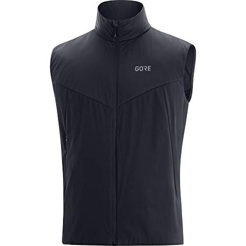 GORE WEAR Chaleco Acolchada Partial Gore-Tex Infinium Vests, Hombre, Black, XL