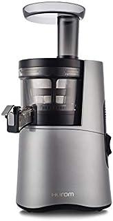 ヒューロム スロージューサー H26-DG17(ダークグレー)| スロージューサー ジューサー ミキサー フローズン ジュース スムージー