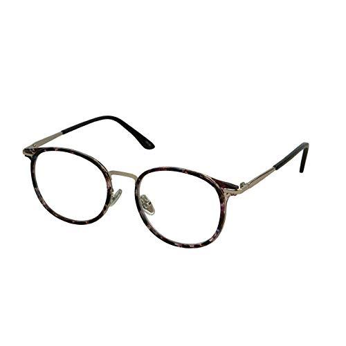 YGJ113 BONOX ダルトン おしゃれ 老眼鏡 シニアグラス Reading Glasses/ (PLS PURPLE_SILVER, 3.0)