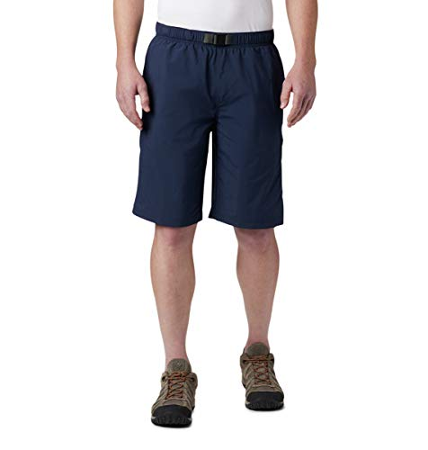 Columbia Men's Big and Tall Palmerston Peak Short, Waterproof, UV Sun Protection, Collegiate Navy, 5X x 11