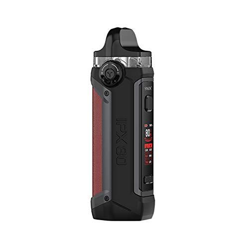 Smok IPX 80 Kit 5.5ml | Original SMOK IPX 80 Kit Vape 80W 3000mAh Batería 5.5ml RPM 2 Vaina con malla 0.16ohm DC 0.6Ω Cigarrillo electrónico de vapor de bobina MTL