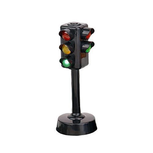 STOBOK Semáforos de Juguete Lámpara de Semáforos con Sonido de Tráfico Juguete de Educación Temprana para Niños de Jardín de Infantes Bebé Niño