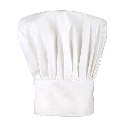 Boland 01405 Chef Deluxe Chapeau de Cuisine pour Enfant Blanc