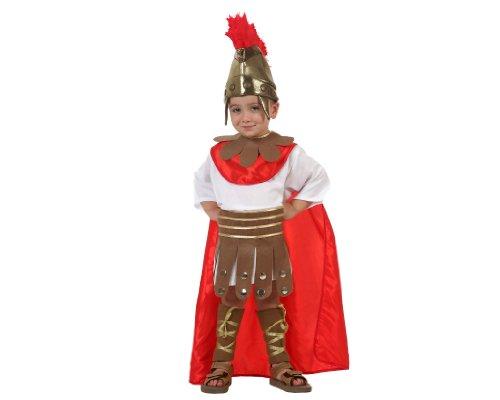 Atosa - Disfraz de romano para bebé niño, talla 5-6 años (93889)