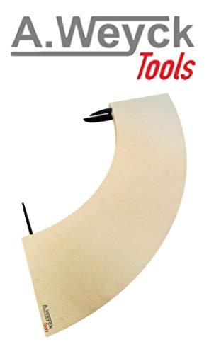 Tisch Anstecktisch für 80cm Feuerplatte 25x100cm Grillplatte Grillring Feuertonne Grill BBQ