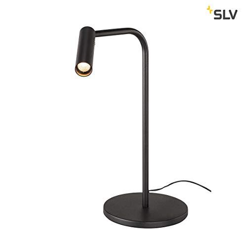 SLV KARPO TL, LED Indoor Tischleuchte, schwarz, 3000K Leuchte Aluminium 6.5 W