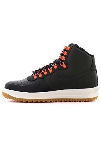 Nike Men's Fitness Shoes , Multicoloured Black Sequoia Sail Gum Light Brown , 10 US