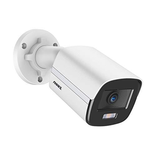 ANNKE NC400 4MP Super HD PoE Telecamera di sicurezza a Colori Vero Visione Notturna H.265+ CCTV Bullet IP Fotocamera di Sorveglianza per Esterni / Interni