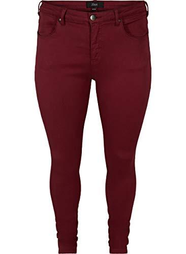 Zizzi Amy Damen Jeans Super Slim Jeanshose Stretch Hose Große...