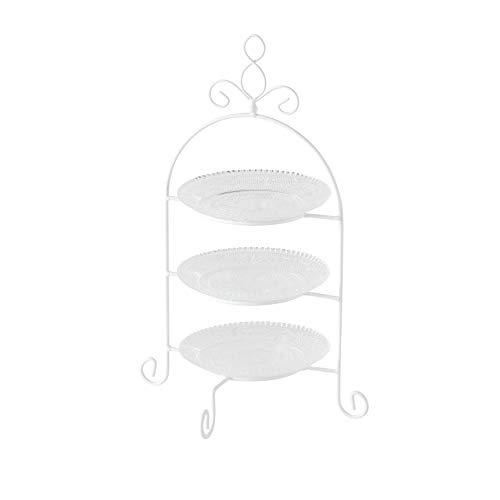 Etagere Madita 3er 4tlg H37cm Material: Glas klar
