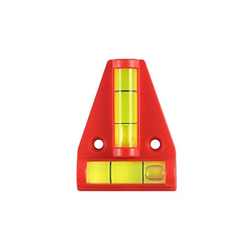ProPlus 341214 Mini waterpas kruiswaterpas piramide met 2 libellen rechthoekig geplaatst, afmetingen: 5,5 x 4,5 cm